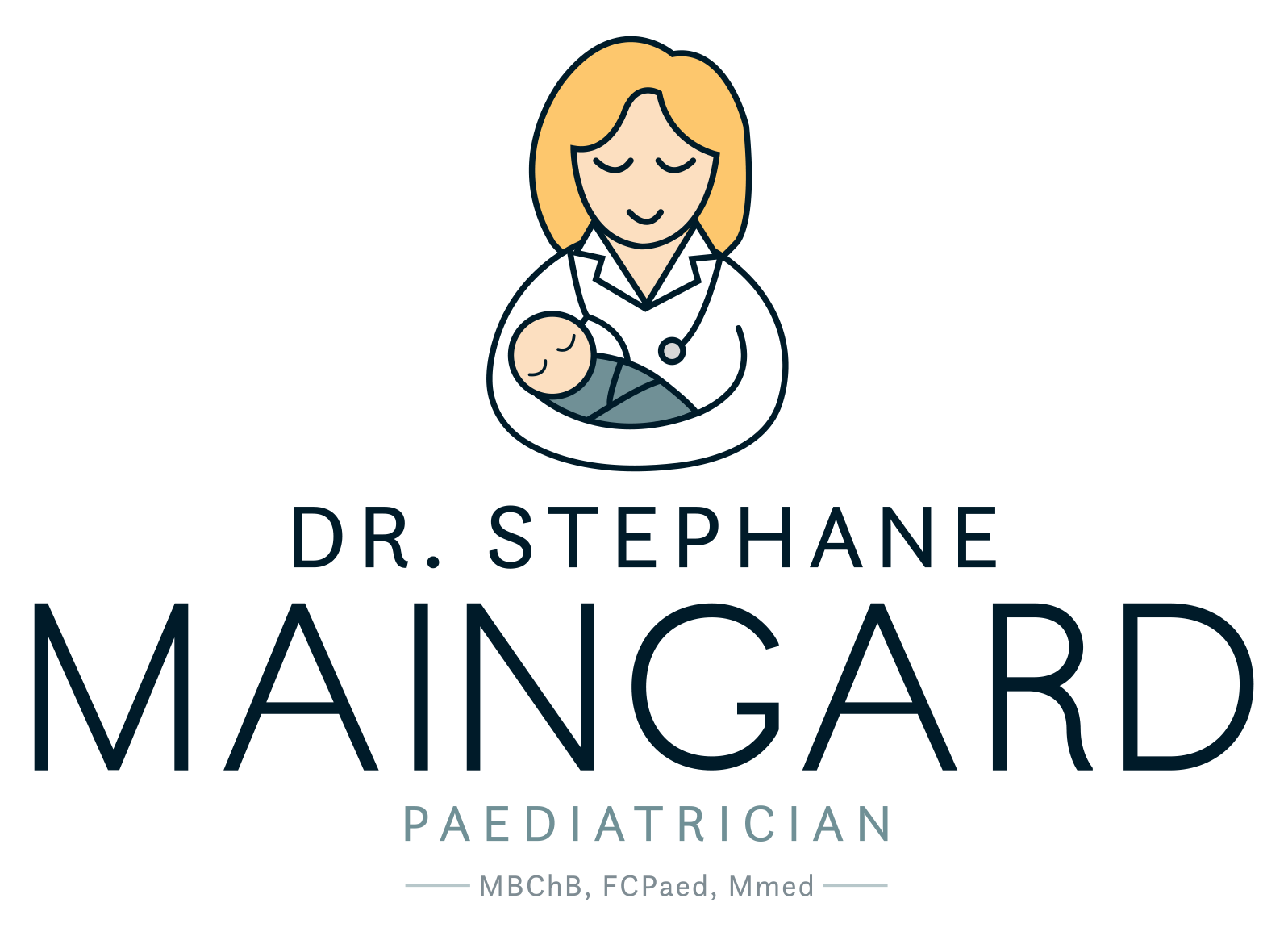 Dr Stephane - Logo - on White